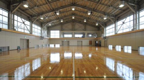 富士市富士川第二小学校屋内運動場耐震補強主体工事